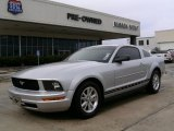 2007 Satin Silver Metallic Ford Mustang V6 Premium Coupe #16467199