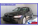 2008 Jet Black BMW 3 Series 328i Sedan #16476543
