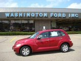 2007 Inferno Red Crystal Pearl Chrysler PT Cruiser  #16454402