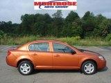 2007 Sunburst Orange Metallic Chevrolet Cobalt LS Sedan #16458657