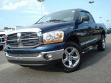 2006 Patriot Blue Pearl Dodge Ram 1500 Big Horn Edition Quad Cab 4x4 #16444504