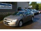 2008 Amber Bronze Metallic Chevrolet Malibu LS Sedan #16471762