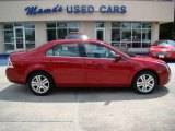 2008 Redfire Metallic Ford Fusion SEL V6 #16473916