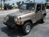 2006 Light Khaki Metallic Jeep Wrangler X 4x4 #16545397