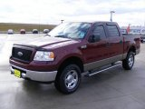 2006 Dark Toreador Red Metallic Ford F150 XLT SuperCrew 4x4 #1649371