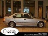 1998 Arctic Silver Metallic BMW 3 Series 328i Sedan #16579243