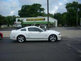 2007 Performance White Ford Mustang Shelby GT Coupe #16578803