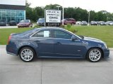 2009 Blue Diamond Tri-Coat Cadillac CTS -V Sedan #16581107