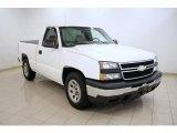 2006 Summit White Chevrolet Silverado 1500 Work Truck Regular Cab #16580599