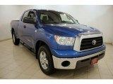 2007 Blue Streak Metallic Toyota Tundra SR5 Double Cab 4x4 #16579500
