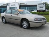 2001 Sandrift Metallic Chevrolet Impala  #16581068