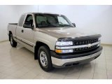 2002 Light Pewter Metallic Chevrolet Silverado 1500 LS Extended Cab #16580624