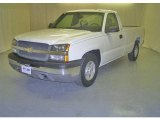 2003 Summit White Chevrolet Silverado 1500 Regular Cab #16578475