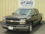 2004 Dark Gray Metallic Chevrolet Silverado 1500 LS Crew Cab #16578476