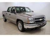 2007 Graystone Metallic Chevrolet Silverado 1500 Classic LS Crew Cab #16580600