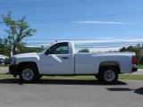 2008 Summit White Chevrolet Silverado 1500 Work Truck Regular Cab #16578952
