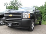 2009 Imperial Blue Metallic Chevrolet Silverado 1500 Extended Cab 4x4 #16578865