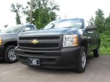 2009 Blue Granite Metallic Chevrolet Silverado 1500 Regular Cab #16578871
