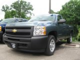 2009 Blue Granite Metallic Chevrolet Silverado 1500 Regular Cab #16578874