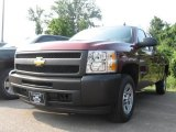 2009 Deep Ruby Red Metallic Chevrolet Silverado 1500 Extended Cab #16578921