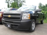 2009 Black Chevrolet Silverado 1500 Regular Cab #16578872