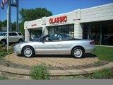2002 Brilliant Silver Metallic Chrysler Sebring LXi Convertible #16578773