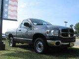 2007 Mineral Gray Metallic Dodge Ram 1500 SLT Regular Cab 4x4 #16579048