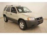 2003 Gold Ash Metallic Ford Escape XLS V6 #16580169