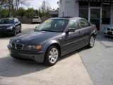 2002 Steel Grey Metallic BMW 3 Series 325i Sedan #166298