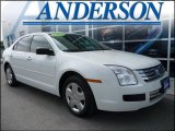 2008 White Suede Ford Fusion S #16577968