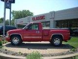 2005 Fire Red GMC Sierra 1500 SLE Regular Cab #16578800
