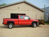 2006 Fire Red GMC Sierra 2500HD SL Extended Cab 4x4 #16578774