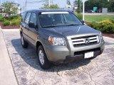 2007 Nimbus Gray Metallic Honda Pilot LX 4WD #16580960