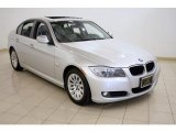2009 Titanium Silver Metallic BMW 3 Series 328xi Sedan #16579825