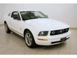 2006 Performance White Ford Mustang V6 Premium Coupe #16580586