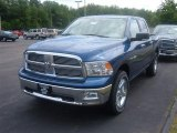 2009 Deep Water Blue Pearl Dodge Ram 1500 Big Horn Edition Crew Cab 4x4 #16578911