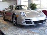 2007 GT Silver Metallic Porsche 911 Turbo Coupe #163791