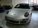 2008 Arctic Silver Metallic Porsche 911 Carrera Cabriolet #1661882