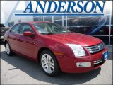 2008 Redfire Metallic Ford Fusion SEL V6 #16577977