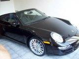 2008 Black Porsche 911 Carrera 4S Cabriolet #1661885
