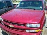 2004 Sport Red Metallic Chevrolet Tahoe Z71 4x4 #16688331