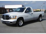 2006 Bright White Dodge Ram 1500 SLT Regular Cab #16678687