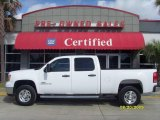 2007 Summit White GMC Sierra 2500HD Crew Cab #16676168