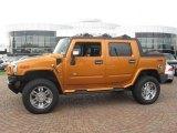 2006 Fusion Orange Hummer H2 SUT #16686448