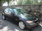 2007 Jet Black BMW 3 Series 328i Sedan #16677484