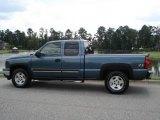2006 Blue Granite Metallic Chevrolet Silverado 1500 LS Extended Cab 4x4 #16685477