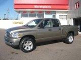 2007 Light Khaki Metallic Dodge Ram 1500 Big Horn Edition Quad Cab 4x4 #16675932