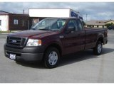 2006 Dark Toreador Red Metallic Ford F150 XL Regular Cab #16678686