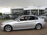 2008 Titanium Silver Metallic BMW 3 Series 328i Sedan #16686436