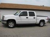 2004 Summit White Chevrolet Silverado 1500 Z71 Crew Cab 4x4 #16732341